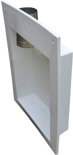 Speedi-Products EX-DBK 04 18-Inch by 24-Inch Length Dryer Box, Periscope and 2 Rectangular to Round Transitions