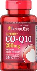 puritan's pride CO-Q10 200MG 240 SOFTGELS COQ10