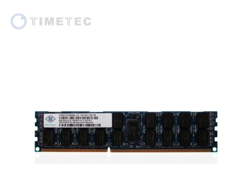 Timetec Nanya® Original 8Gb 240-Pin Dual Rank Sdram Ecc Registered Ddr3 1333 (Pc3-10600) Server Memory Module Upgrade - (P/N Nt8Gc72C4Ngonl) Lifetime Warranty (8Gb)