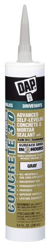 Dap 18370 Self-Leveling Concrete 3.0 Sealant 9.0-Ounce