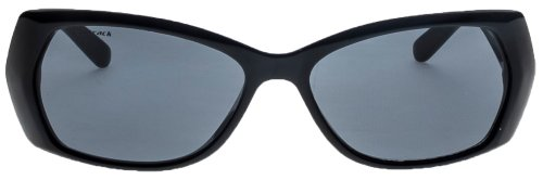 Fastrack Oval Sunglasses (Black) (P181BK2F)