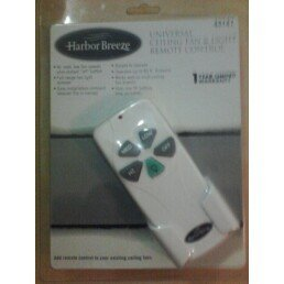 Universal Ceiling Fan & Light Remote Control (Harbor Breeze Remote Battery compare prices)