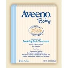 Johnson And Johnson Aveeno Soothing Baby Bath Powder -- 12 Per Case. front-510532