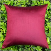 Cushion Casa Cushion Covers (Maroon)