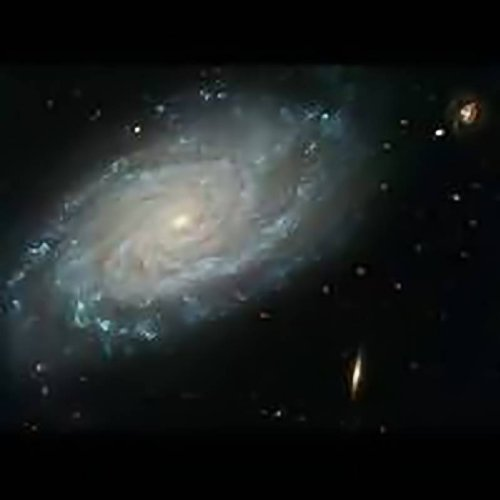 Hubble Telescope Feature -Celestial Composition