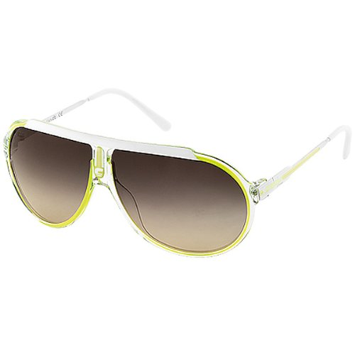 Carrera Endurance/S Adult Casual Sunglasses - Color: Crystal Green Fluorescent White/Brown Gradient