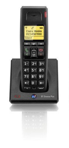 BT Diverse 7100 Plus Single DECT Additional Handset - Black images