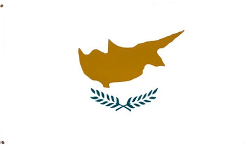 Cyprus National Country Flag - 3 foot by 5 foot Polyester (New)