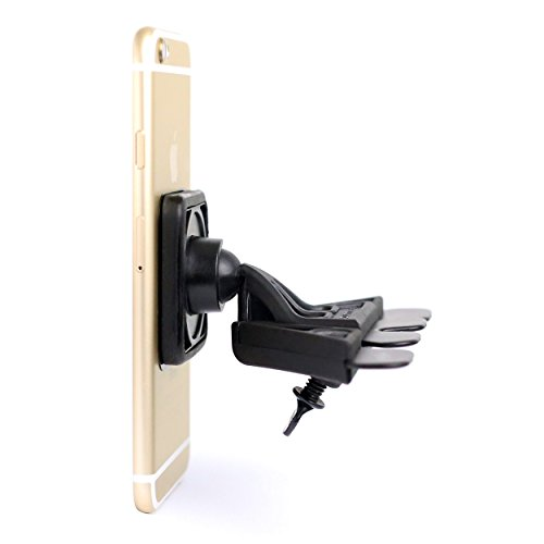 Mountek nGroove Snap+ HeavyDuty Magnetic CD Slot Car Mount for Cell Phones, Smartphones, Phablets plus Tablets