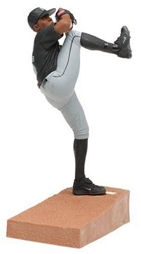 MLB Series 9 Figure: Dontrelle Willis with Black Florida Marlins Jersey