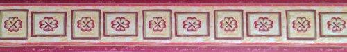 """d-c-fix selbstklebende Wandbordüren """"Flowers I"""" 5,3cm x 10m"""