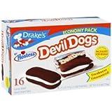 Hostess Drake's Cakes Devil Dogs Box of 16
