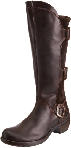 Fly London Women's Mynd Dk Brown Knee High Boots P142310001 8 UK