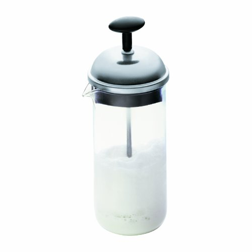 Bodum 1963-01 Small Chambord Milk Frother, 2.5 oz, Black (Bodum Chambord Milk compare prices)