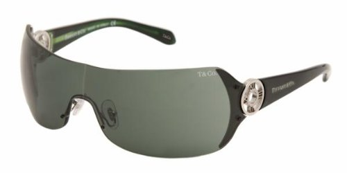 Tiffany & Co 3003B SILVER GREY GREEN 600171 Sunglasses