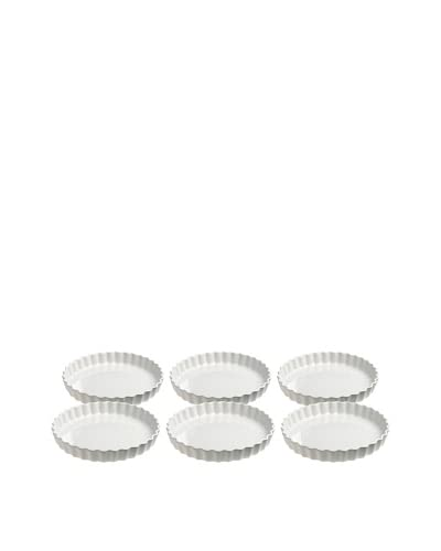 REVOL Set of 6 6-Oz. Round Flan Dishes As You See