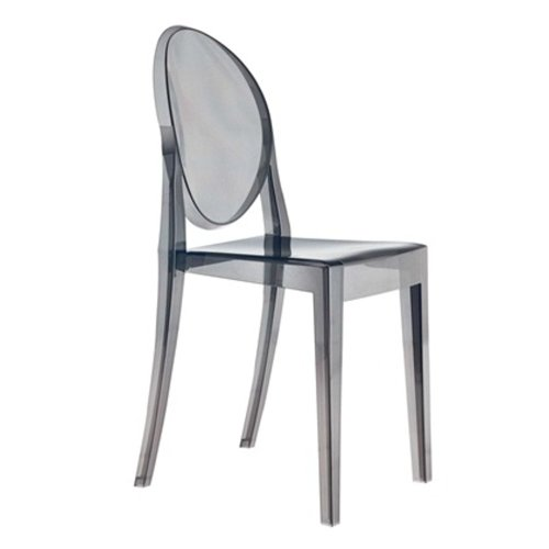 Victoria Ghost Chair (4, Smoke)