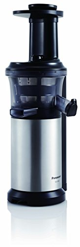 Panasonic MJ-L500 Slow Juicer with Frozen Treat Attachment, Black/Silver Home Garden Kitchen ...