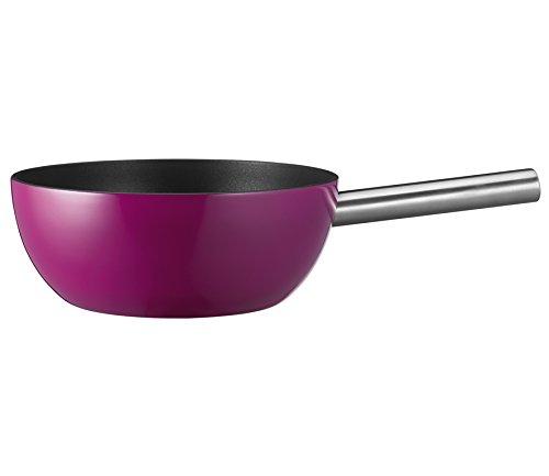 Spring 2896530624 Caquelon à fondue en aluminium compatible induction Violet 23cm