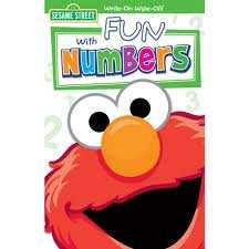 Sesame Street Write-On Wipe Off: Elmo's Fun with Numbers (2011) - 1