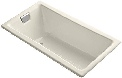 Kohler K-850-47 Tea-For-Two 5-Foot Bath, Almond
