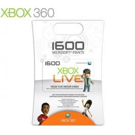 New Xbox360 Microsoft Card 1600 Points Update Your Games With The Latest Available Downloads