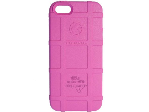 Police Tx Dps State Ol Engraved Magpul Mag452 Field Case Pink For Iphone 5 & 5S Engraved By Ndz Performance