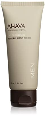 Cheapest AHAVA Time to Energize Mineral Hand Cream for Men, 3.4 fl. oz. from AHAVA - Free Shipping Available