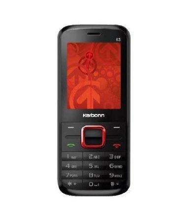 Karbonn K5* Black+ RED