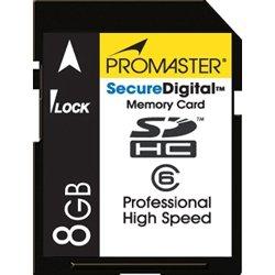 Pro High Speed 153X Secure Digital SDHC Card - 8GB