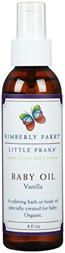 Little Prana Vanilla Baby Oil - 4 oz - 1