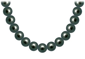 Tahitian Pearl Necklace 18K Yellow Gold 12.00 - 14.00 MM