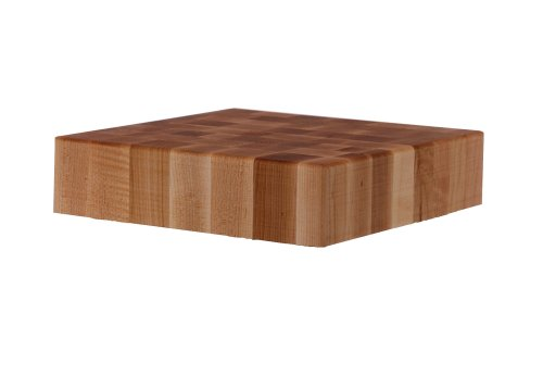 John Boos 24-Inch Square Maple Chinese Chopping Block