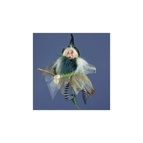 Flying Kitchen Witch Doll   BEST WITCHES Home & Kitchen