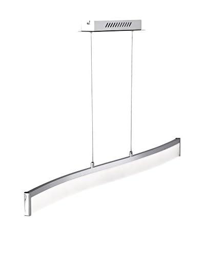 WOFI Lámpara De Suspensión LED Louvre Metal/cromo
