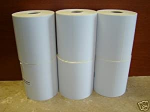 6 Roll of 250 4x6 Direct Thermal Zebra 2844 Zebra 2843 2844z Labels Eltron