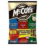 McCoys The Classics Variety Crisps 6 X 32G