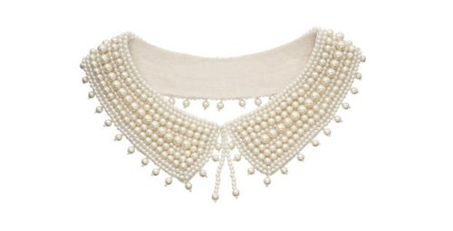 Fashion Beaded Peter Pan Collar Necklace Women