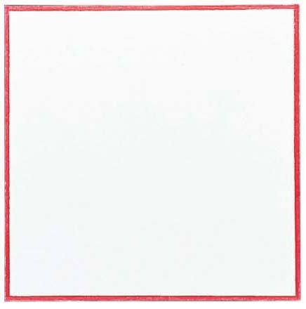 赤枠耐油天紙(300枚入) 6寸 291-R-18