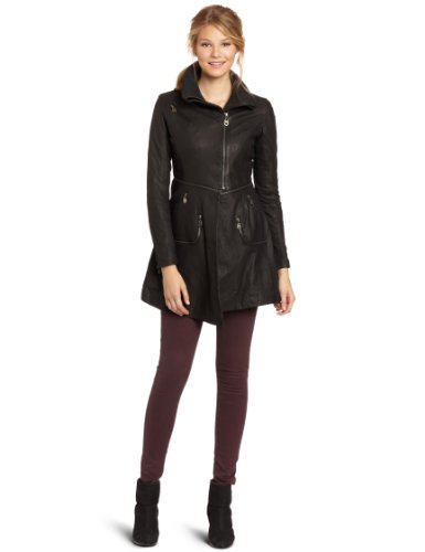 Doma Women's Irregular Coat, Black, X-Small