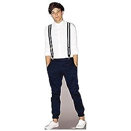 Happyfans - Figura de cartón de Louis Tomlinson de One Direction (tamaño real, 178 cm)