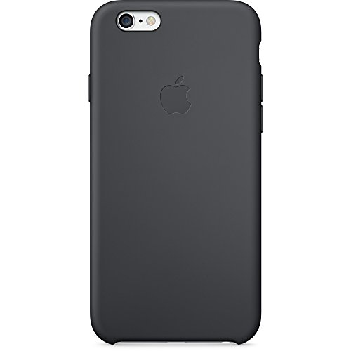 Apple MGQF2ZM/A Silikon Hülle für iPhone 6 schwarz