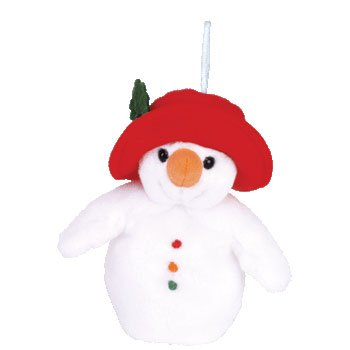 Ty Jingle Beanies Chillin - Snowman