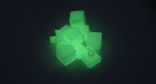 Guobing 3X3X3 Glow-In-The-Dark Puzzle Speed Cube Diy Kit-3X3X3, Glow-In-The-Dark - (Premium Quality)