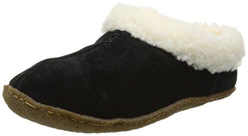 Sorel Nakiska, Pantofole Donna, Nero (Black 010Black 010), 36 EU
