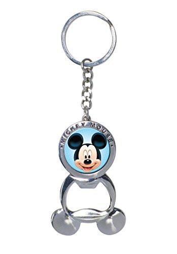 Disney Mickey Pewter Bottle Opener Key Ring (Bottle Opener Keychain Disney compare prices)