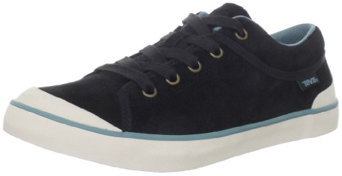Teva Women'S Freewheel Fashion Sneaker,Black,7 M Us front-1019088