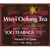 Pack Of Four Foojoy Wuyi Oolong Tea 100 Tea Bags