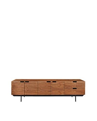 Kardiel Structure Mid-Century Modern Sideboard Credenza, Walnut
