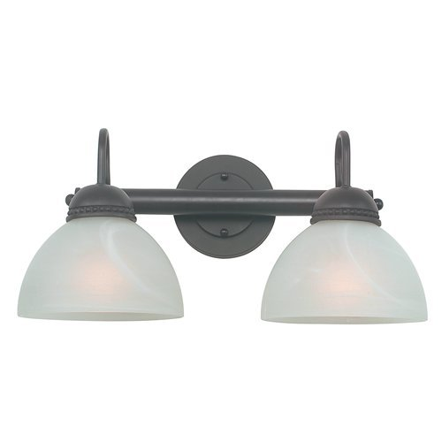 Royce Lighting RV400-2-23 Westlake 2 Light Vanity Oil Rubbed Bronze
